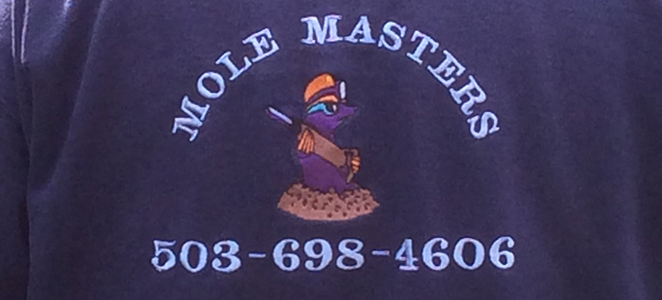Mole Masters, Inc. - Mole and vole trapping in Portland, Oregon